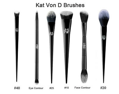 Kat Von D Lock-It Shade Light Brush #10 /  #25 / eye - Brand New UK 1st CLASS