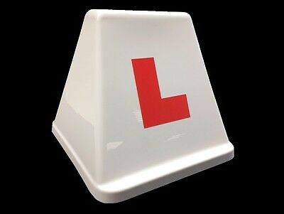 Learner Driver Car Roof Box Sign Advertising Board L Plates Driving School Som