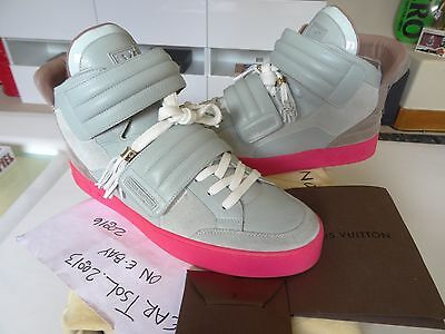 online retailer 0bba2 f5435 Kanye West x Louis Vuitton Jaspers PINK-GRAY size 9 LV. (fits US