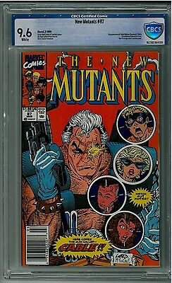 NEW MUTANTS #87 1st appearance of CABLE CBCS 9.6 White Pages Key Issue 1st Print
