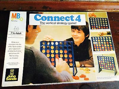 Connect 4 Game. Old Original 1975 For Collectors