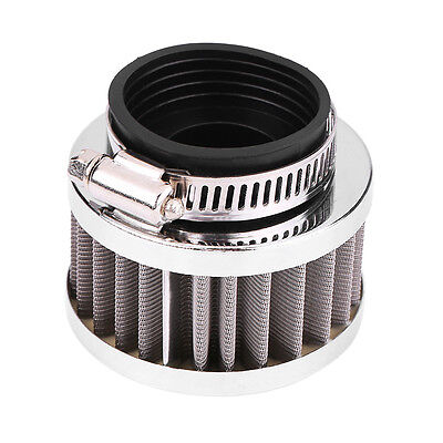 38mm Air Filter w/ Clamp For 90cc-125cc Motorcycle ATV Quad Dirt Bike Go kart JS
