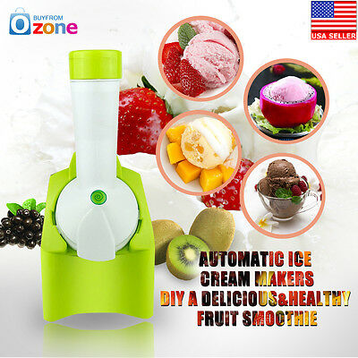 DIY Ice Cream Sorbet & Frozen Yoghurt Maker Machine Juicer Food Processor 2017