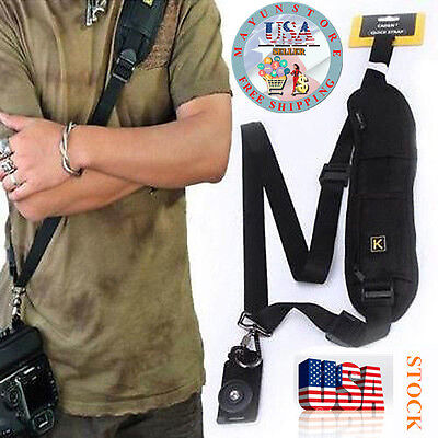 Universal Camera Shoulder Neck Straps Belt Sling for Canon Nikon Sony DSLR EG