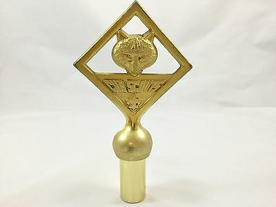 Cub Scouts Wolf Finial Flag Pole Topper