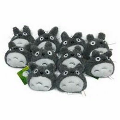 "Anime Studio Ghibli My Neighbor Totoro 3"" Plush Pendant Keyring Toy Doll Gifts"