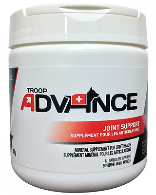 Troop Advance All-Natural Mineral Supplement Joint Support contains Chondroitin