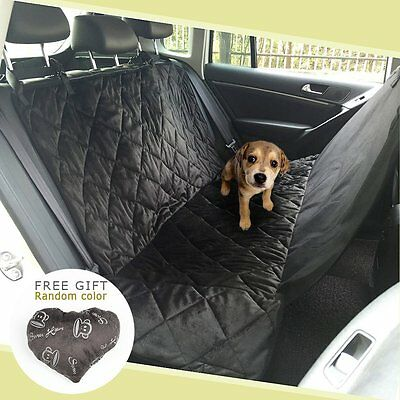 Pawow Pet Dog Seat Cover Hammock for Cars Trucks SUV's and Vehicles