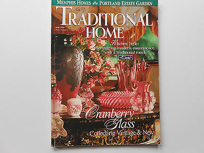 Traditional Home June 1991 Memphis Homes Portland Estate Gardens Cranberry Glass