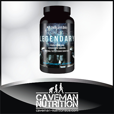 Chaos & Pain LEGENDARY Natural Muscle Builder / Laxogenin / Epicatechin / 2 in 1