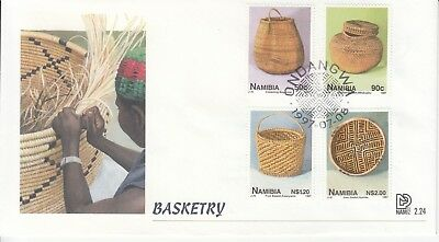 Basketry Namibia 1997 FDC