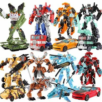 High Quality Transformers Bumblebee Optimus Prime 6'' Action Figure Kid Toy Car