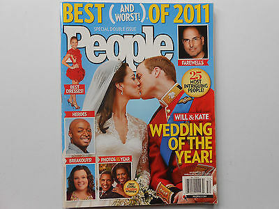 ## PEOPLE MAGAZINE - BEST (AND WORST!) OF 2011 - WILLIAM n KATE - STEVE JOBS
