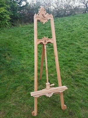 large easel solid wood hand carved 170 cm easel mahogany wedding portrait