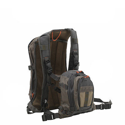 Aventik Fly Fishing Backpack Chest Pack Bag / Outdoor Sports Fishing Pack