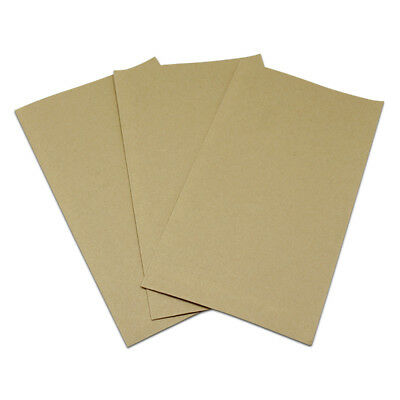 9.8x17.5cm Open Cell Phone Screen Protector Film Kraft Paper Storage Packing Bag