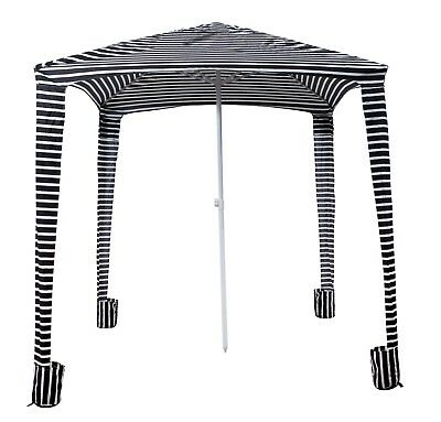 OZtrail Umbrella Cabana-Brella Beach Canopy Shelter Shade Stable Folding Outdoor