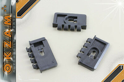 5x For Mercedes Interior Trim Fixing Clip Grommet 15X4.7 Black Plastic