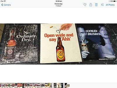 Beer & Coca-Cola x 5 Different Stand Up Signs. Average 300x 240. See Description