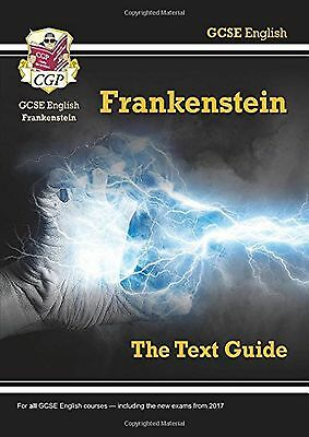 GCSE English Text Guide Frankenstein Study Aid Book New Free Post