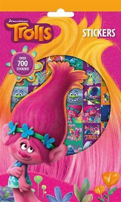 700 Trolls Stickers for Scrapbooking or Customising Bags Pencil Cases Books