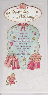 Birthday blessings religious card christian catholic holy family religious birthday birthday blessings birthday card bookmarktalkfo Image collections