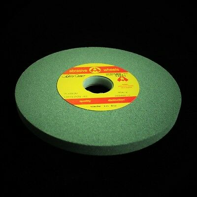 "125mm x 20mm 5"" Green Grit Bench Off Hand Grinding Wheel Grinder Toolroom FINE"