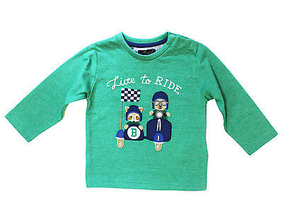 078302d40704 NWT MAYORAL BABY Boy Holiday Long Sleeve Shirt ~ Size 6M 24M ...