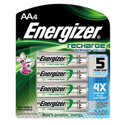 8 Energizer AA 1300 MAh Rechargeable Batteries NiMH ACCU HR6 Phone