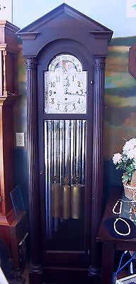 Herschede Model 88- Waltham Mahogany Tall Case Clock Grand Prize Winner