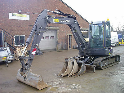 Volvo ECR58D 5880Kgs Midi Digger Excavator 2016 Part ex / finance available