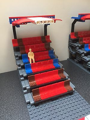 Custom Lego Grandstand Build Plans 4 SlotCar Circuits like Scalextric or Carrera