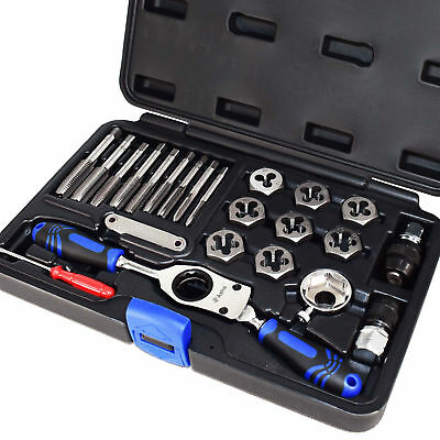 Astro Pneumatic 7582 Automotive Tap & Die Set - Metric New
