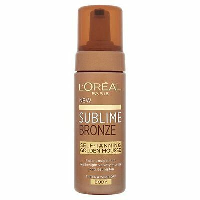 L'Oreal Sublime Bronze Self-Tanning Golden Mousse 150ml