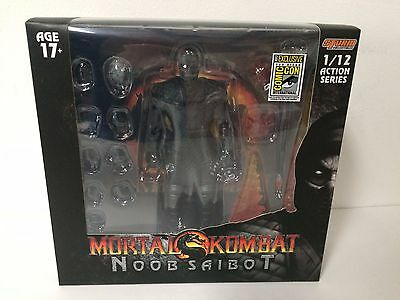 SDCC EXCLU NOOB SAIBOT Mortal Kombat 1/12 Scale Storm Collectibles Action Figure
