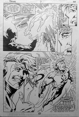 TAKION #7 p.20 by Aaron Lopresti / Lightray is Reborn!
