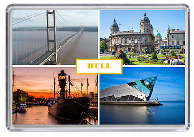 Hull Fridge Magnet 01