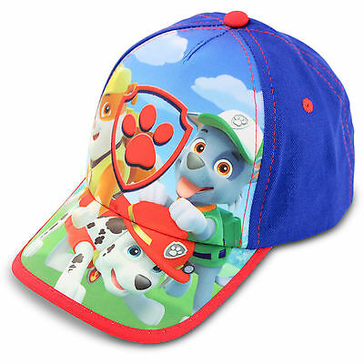 NEW Nickelodeon Paw Patrol Character Cotton Baseball Cap Hat Toddler Boys