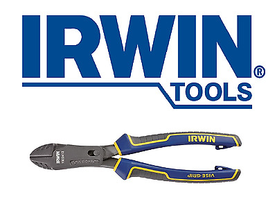 """IRWIN VISE-GRIP Max Leverage Diagonal Cutting Pliers with Powerslot 8"""" 1902413"""