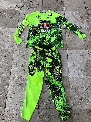 Justin Hill Troy Lee Designs KTM Race Worn Pant/Jersey Combo