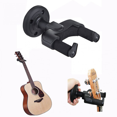 Cisixin Guitar Hanger Wall Mount Holder Rack Hook for Electric Acoustic Guitar B