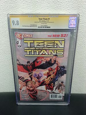 Teen Titans 1 CGC SS 9.8 Brett Booth and Andrew Dalhouse