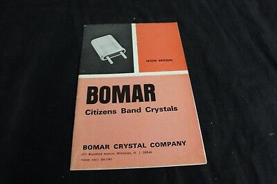 Bomar Citizens Band Crystal Catalog Original Vintage