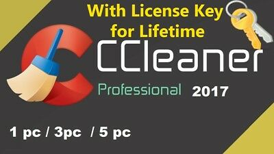 CCleaner Pro 2017 - Lifetime License - Latest Version Download From Website
