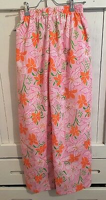 LILLY PULITZER Sportswear Division Sz Small Sleeping Pants Sleepwear