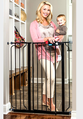 Extra Tall Gate Easy Deluxe Step Regalo Infant Child Stair Through Pet Dog Baby