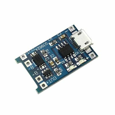 Board Charger Module Arduino 2PCS 1A 5V 18650 Lithium Battery Micro USB