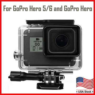 For GoPro Hero 6/5 Black Housing Case Waterproof Diving Protective Cover