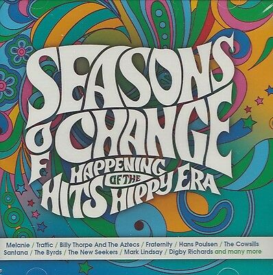 [Brand New] 3Cd: Seasons Of Change - Happening Hits Of The Hippy Era