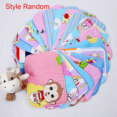 10*Waterproof Baby Infant Urine Mat Diaper Nappy Kid Bedding Changing Cover Pad